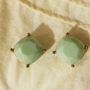 Adorable light blueish green earrings